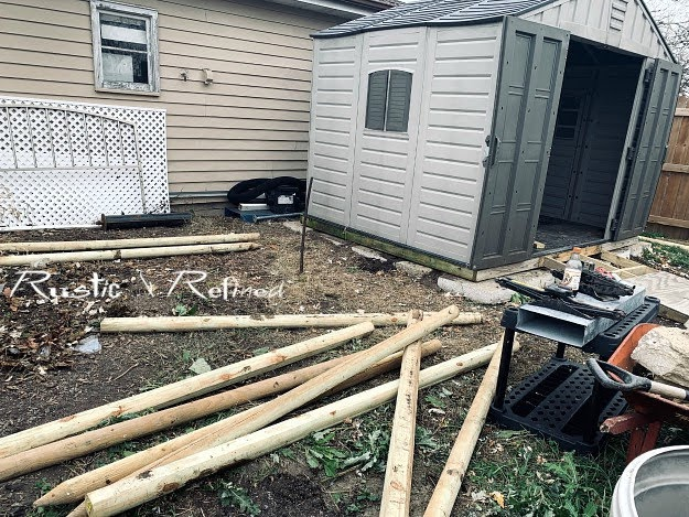 Moving a shed doesn't have to be a huge project. Using a little ingenuity and two car jacks one person can move a shed using the right materials.