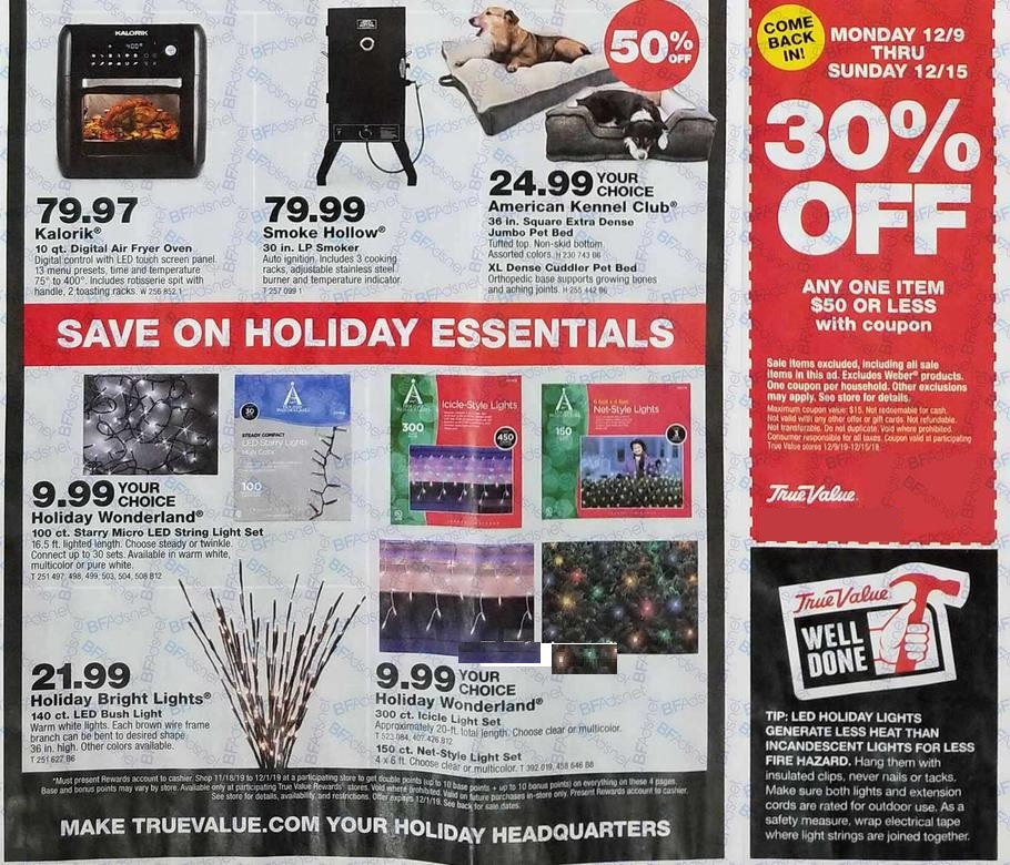 True Value Ad Scan 2 for 2019