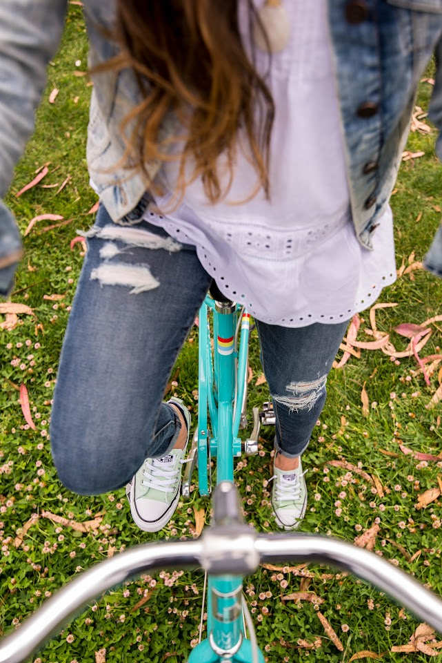 mint converse, san francisco fashion blogger, lds, mormon, public bikes, distressed jeans american eagle