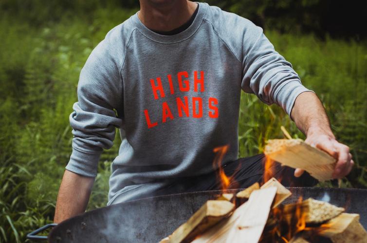 Screen printerd sweaters - Alfie's Studio