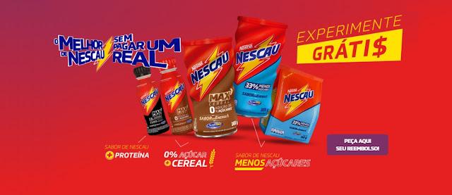 Promoção Nestlé Nescau 2020 de Graça Experimentar - Cadastrar