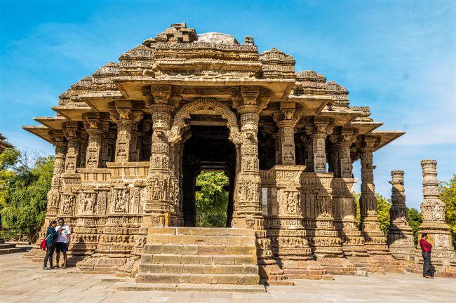 Rang Madap or Sabha Mandap at Modhera Sun Temple