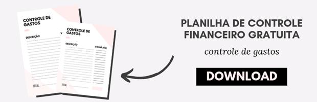 Planilha de Controle de Gastos Gratuita para Download e Impressão