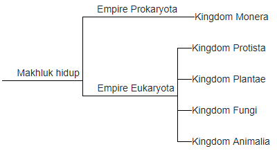 Sistem Klasifikasi 5 Kingdom