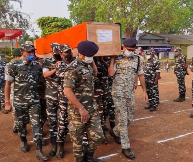 India death toll rises to 22 jawans in encounter with Maoists Chattisgarh Bijapur