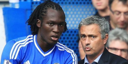 Mourinho Akan Buat Lukaku jadi Striker Top Dunia