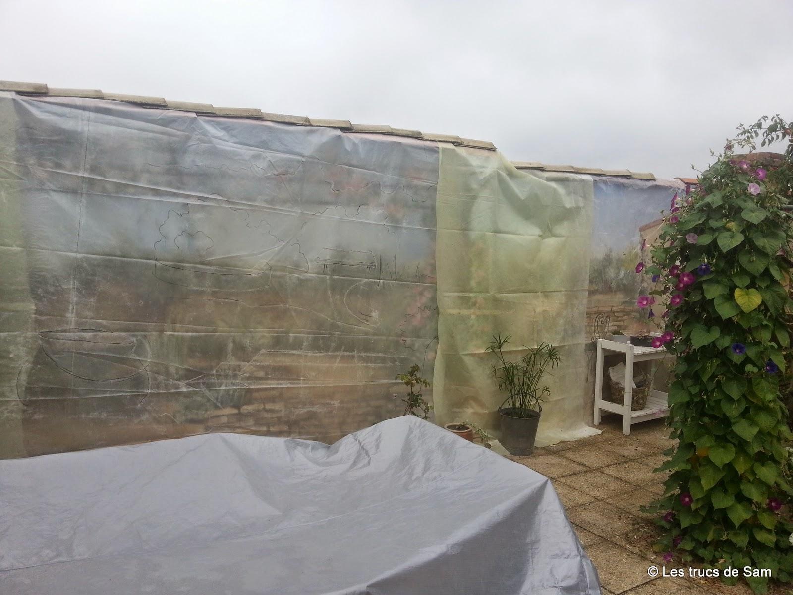 Bâche De Protection Abri Jardin Bois France