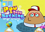 Pou Baby Bathing 2 juego