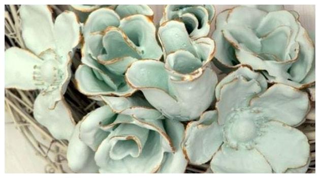 Πως θα φτιάξετε Διακοσμητικά λουλούδια από γύψο