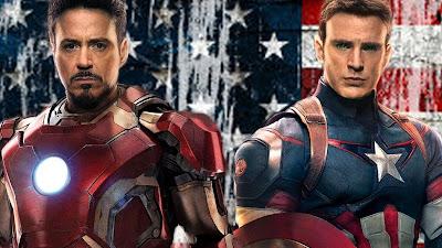 Tony Stark, Iron Man, Steve Rogers, Captain America