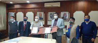 CSIR-NIO, CSIR-NGRI Signed MoU with POI