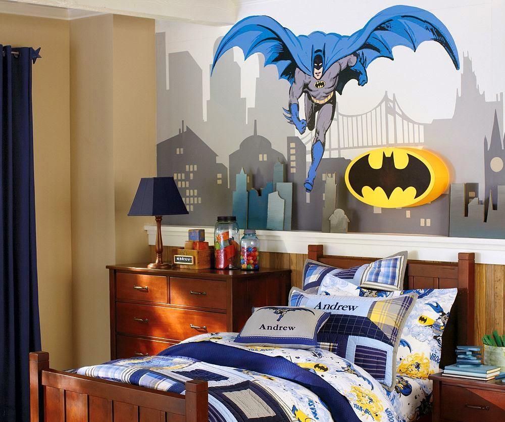 Tip Contoh Desain Kamar Batman