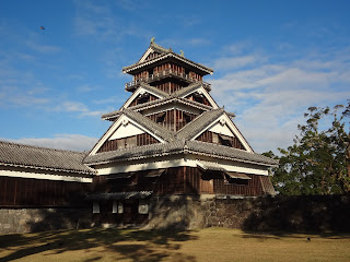 熊本地震前の熊本城(宇土櫓)