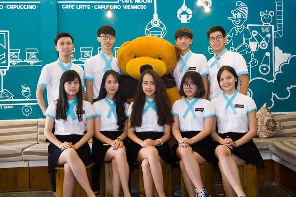 Đồng phục nhân viên cafe The One Coffee & Bakery