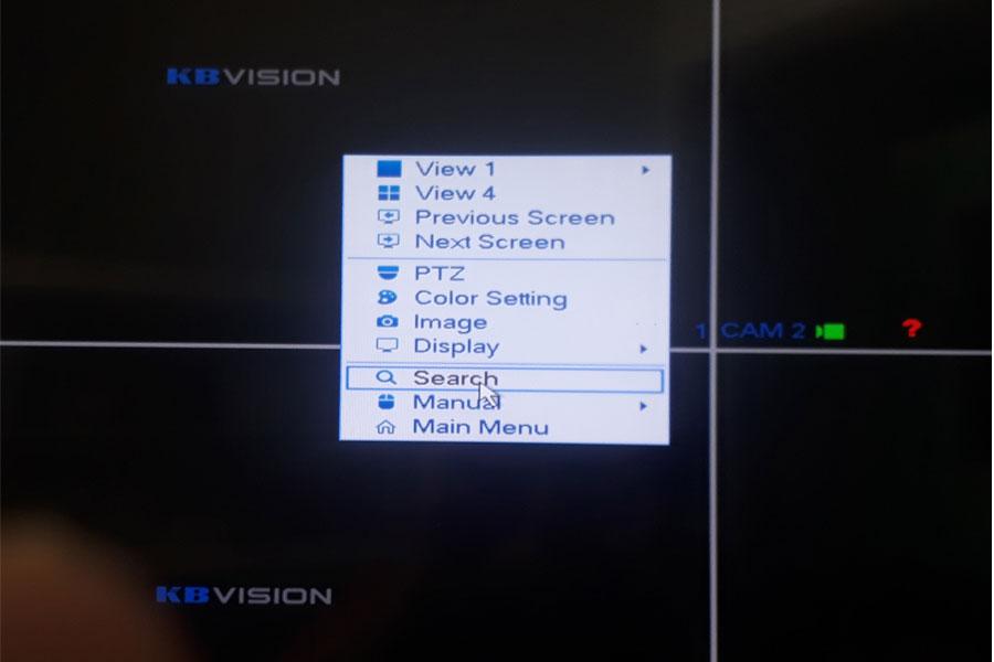 đầu ghi hình kbvision14