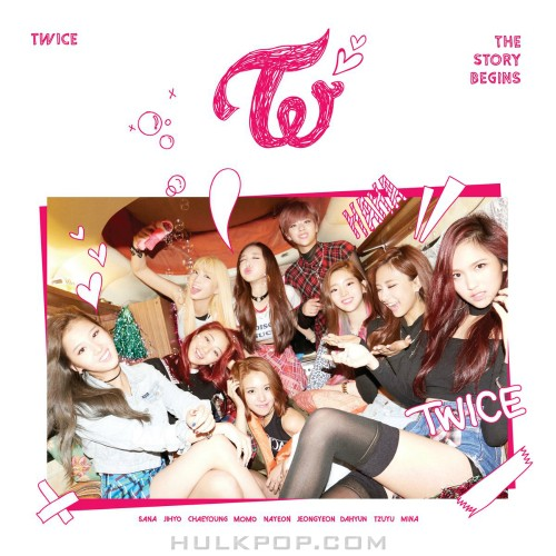 TWICE – THE STORY BEGINS – EP (FLAC + ITUNES PLUS AAC M4A)
