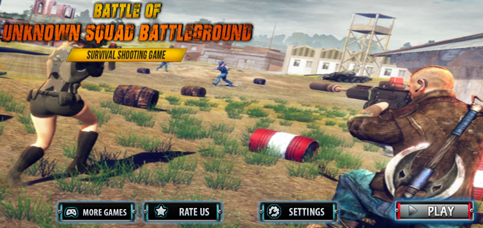 download game battleground survival offline mod apk