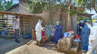 Demi Tidak Terjangkitnya Covid 19, Dua Desa Kecamatan Menjalin Di Berikan Tes Swab