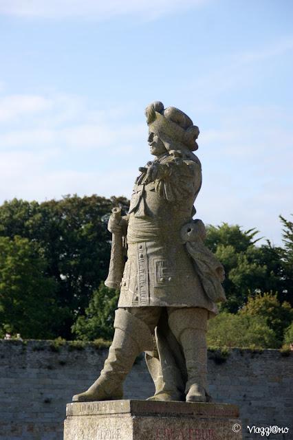 La statua di Duquesne a Concarneau