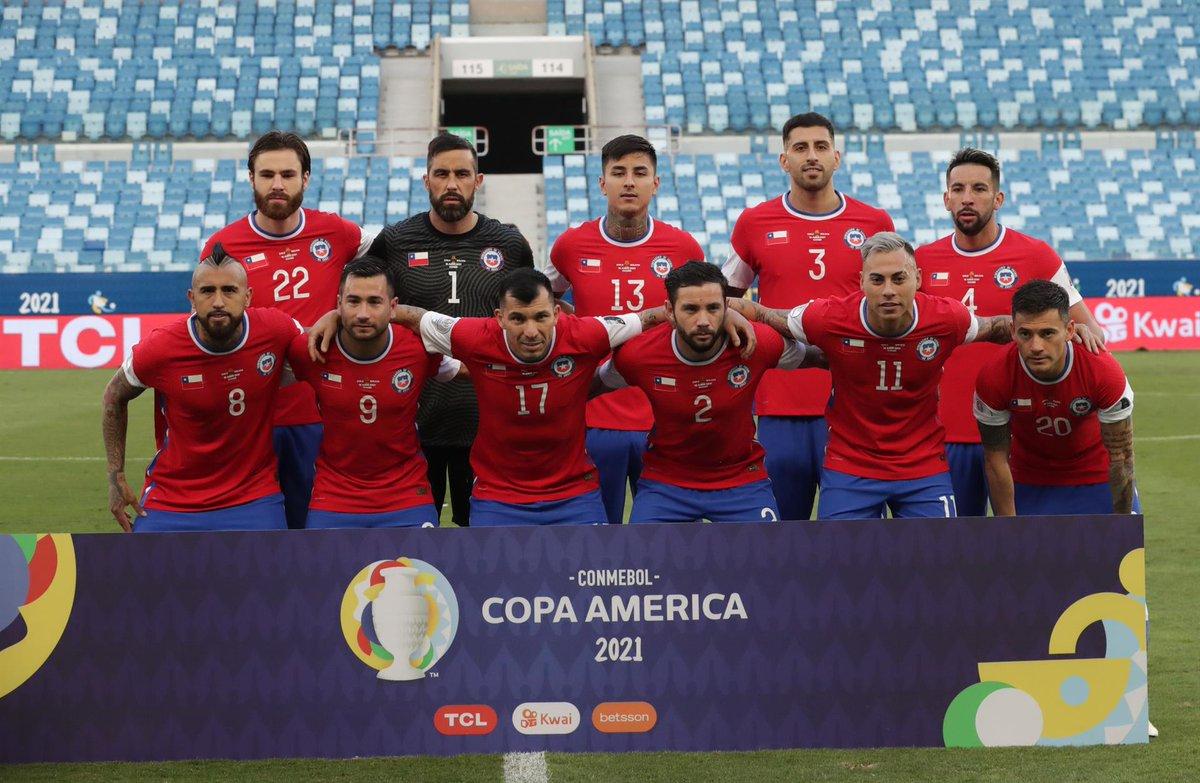 Formación de Chile ante Bolivia, Copa América 2021, 18 de junio