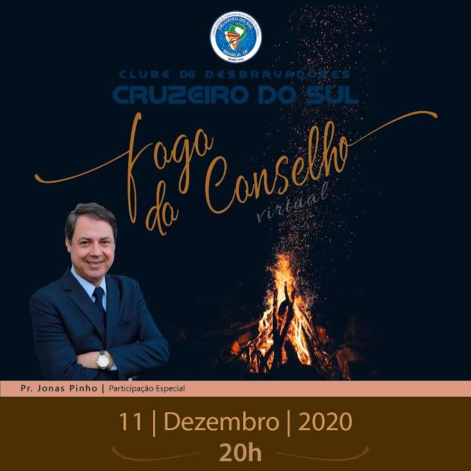 FOGO DO CONSELHO VIRTUAL - Transmissão ao vivo via YouTube!