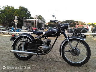 Jual Motor Antik Dkw 125   Surat lengkap