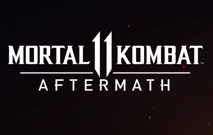 Mortal kombat 11 aftermath official title.
