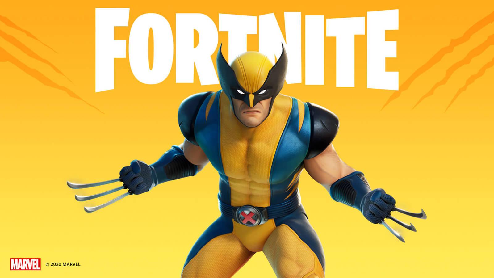 Wolverine Joins Fortnite