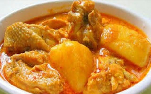 Resepi Kari Ayam Mudah