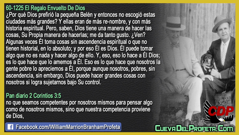 Dios puede hacer grandes cosas con nosotros - William Branham en Español