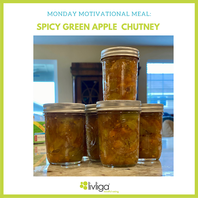 Monday Motivational Meal - Spicy Apple Chutney