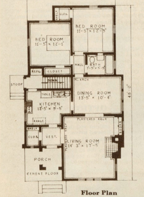 floorplan of Sears San Jose