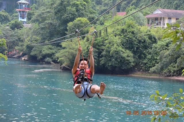 VIETNAM TRAVEL EXPERIENCE: Caves, Zip Lines and Deep Mud in Phong Ke Bang National Park 2