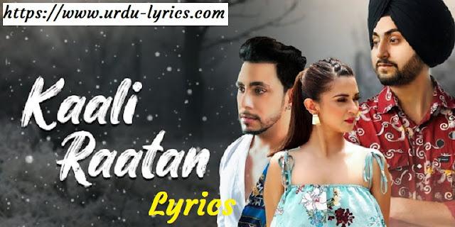 Kaali Raatan Song Lyrics - Manveer Singh