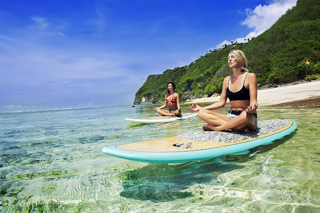 bali yoga | wonderful Indonesia