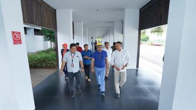 Pujian Ridwan Kamil untuk arsitektur unik Bandara Banyuwangi.