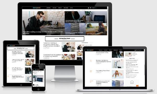 Gampang - Clean and Responsive Premium Blogger Template