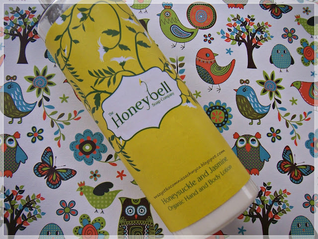 Honeybell, Honeysuckle and Jasmine Organic Hand and Body Loton