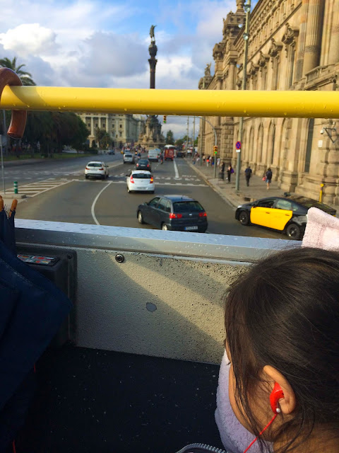 Hop On Hop Off Bus | Barcelona | Chichi Mary Blog