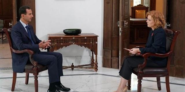 President Bashar al-Assad's Interview with Russian Zvezda TV Station
