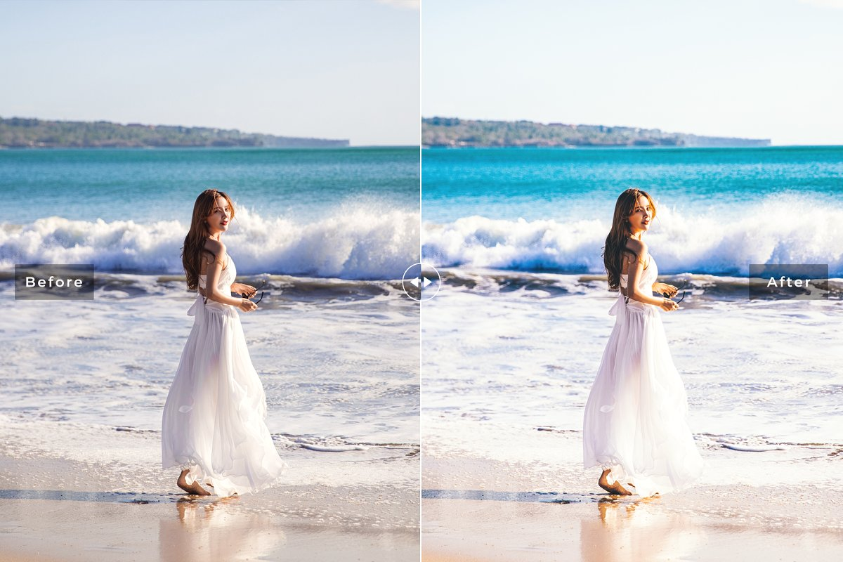 Presets Lightroom Saint Barthelemy (DNG, LR, XMP, ATN)