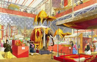 Diversos países exóticos y colonias se dieron cita en la Exhibición, para mayor regocijo y admiración de las masas
