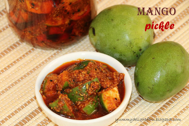Aam ka achar recipe, How to make green Mango pickle