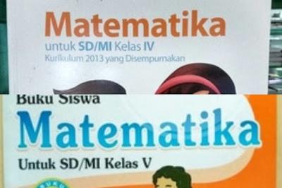 Buku Matematika Kelas 4 5 Dan 6 Kurikulum 2013 Wahana