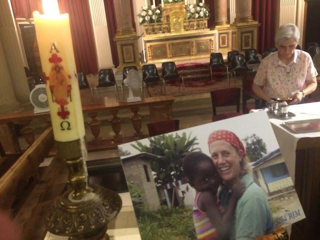 Funeral por Isabel Solá en madrid
