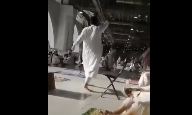 Video Detik-detik Pendukung Teroris ISIS Dibekuk di Masjidil Haram