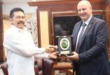 Duta Besar Selandia Baru Lakukan Kunjungan Persahabatan Dengan Jaksa Agung RI