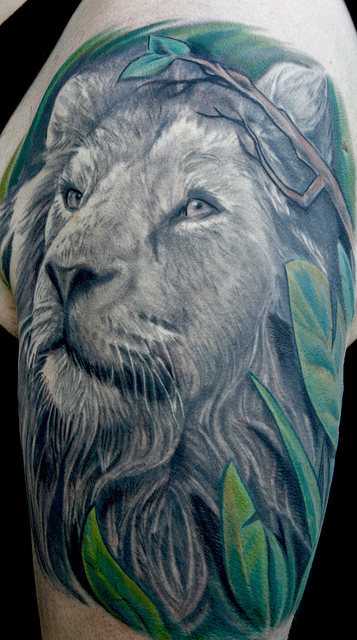 lion tattoos094
