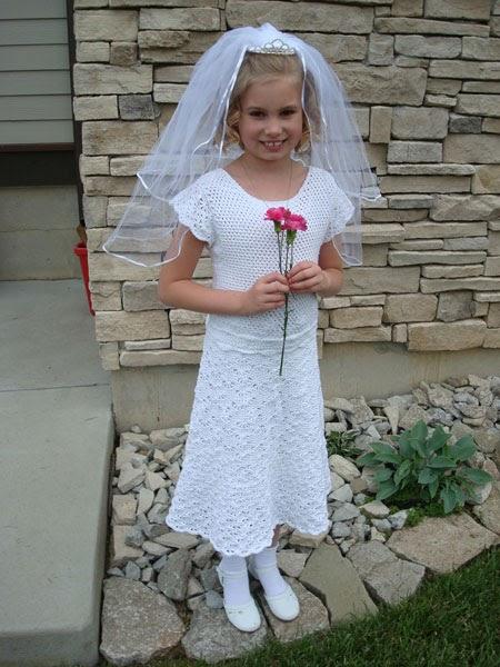 Gocrochet First Communion Dress Pattern Pdf