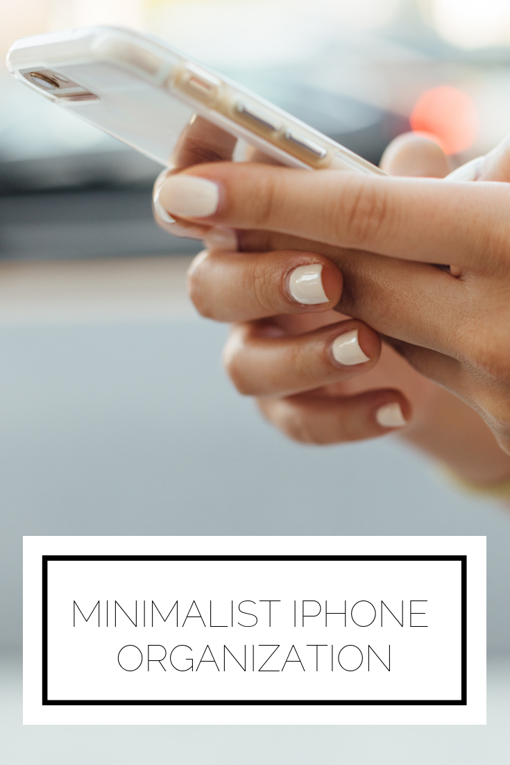 Click to read now or pin for later! Here's some inspiration to get your phone cleaned up like a minimalist. Time to get organized
